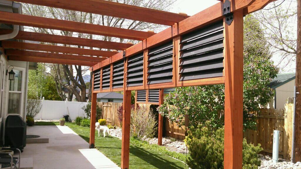 pergola patio designs